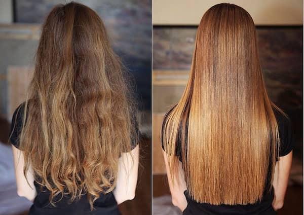 Ламинирование волос дома при помощи желатина