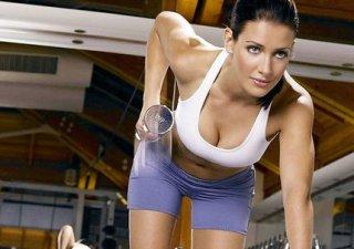 спортивная девушка