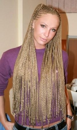 Расти коса до пояса... (афрокосички)