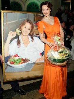 Ольга Кабо отметила двойной юбилей