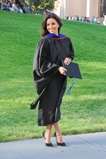 Ева Лонгория – выпускница