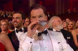 Бенедикт Камбэрбэтч пронес флягу на Оскар