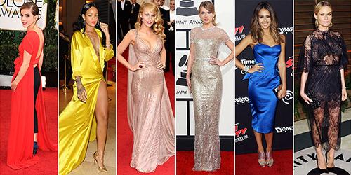 Лучшие платья по версии PEOPLE