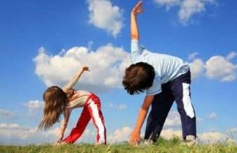 Упражнения для детской зарядки утром