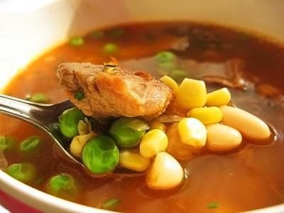 Как приготовить густой фасолевый суп