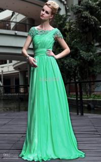 классическое вечернее платье