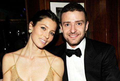 Джастин Тимберлейк с женой