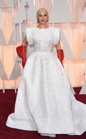 Леди Гага на церемонии Оскар 2015