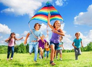 развлечения для ребенка летом
