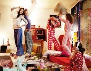 Сценарий и конкурсы для пижамной вечеринки