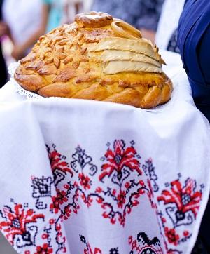 Традиционный славянский свадебный рушник