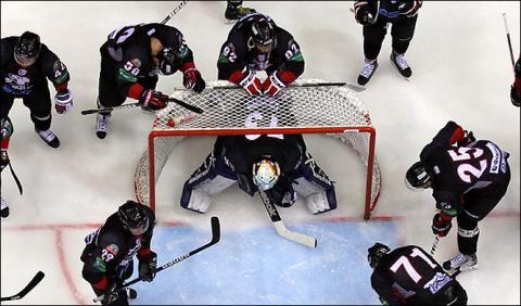 хоккейная команда Челябинска