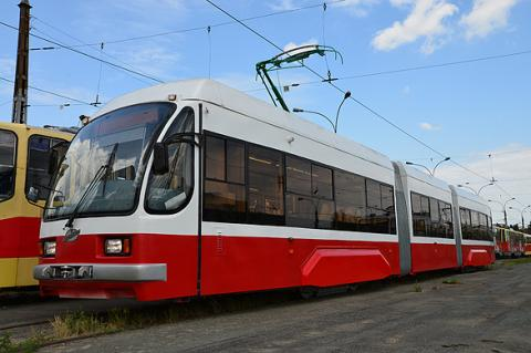Новый трамвай в Челябинске