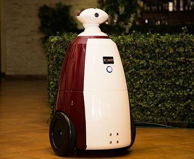 В челябинском ресторане появился официант-робот