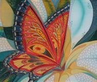 Батик - Бабочка