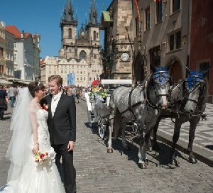 Свадьба в Праге от компании Euro Tours Travel