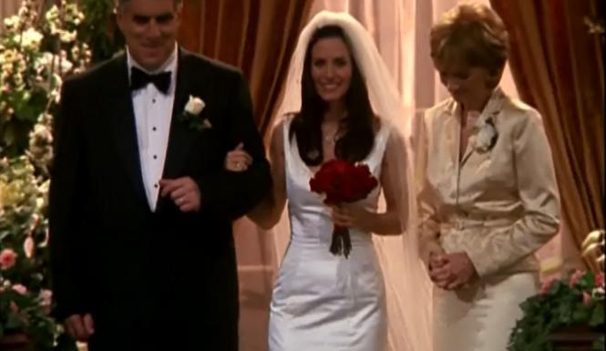 Свадьба Кортни Кокс
