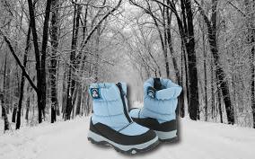 Выбор детской зимней обуви